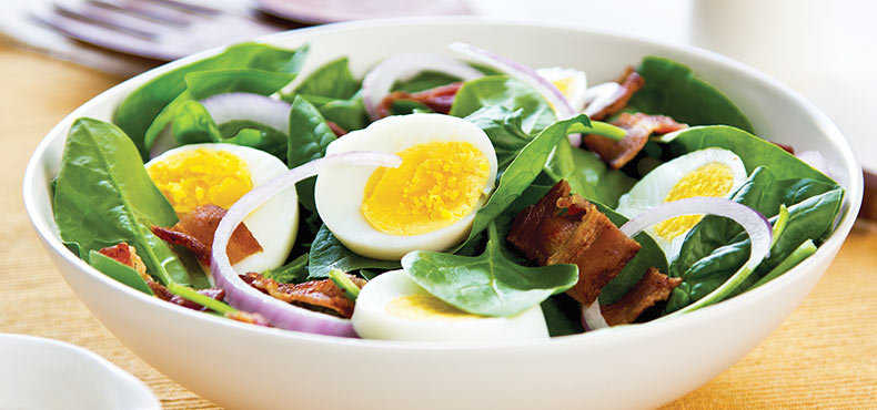 Egg & Bacon Salad