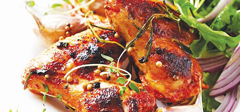 Roast Chicken & Rocket Salad