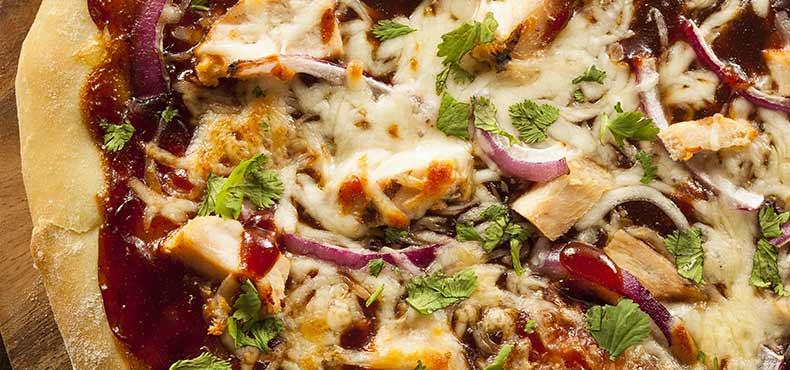 Chicken Pita Pizzas